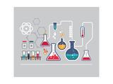 Chemistry Infographic Kunst af  Marish