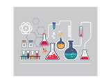 Chemistry Infographic Poster by  Marish