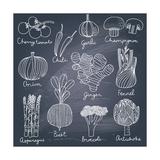 Tasty Vegetables Prints by  smilewithjul