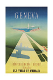 Geneva Travel Poster Posters