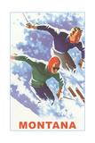 Ski Montana Poster Affiche
