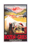 Travel Poster for Bozen-Gries Affiches