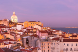 Old Lisbon at Sunset Photographic Print by  topdeq