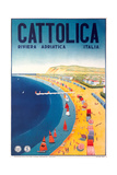 Travel Poster for Cattolica Posters