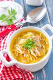 Soup with Pasta Fotografisk tryk af Sea Wave