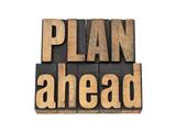 Plan Ahead Láminas por  PixelsAway