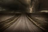Stormy Road Art par  duallogic