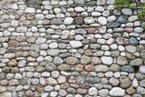 Background of Stone Wall Texture Fotografisk trykk av Vitaliy Pakhnyushchyy