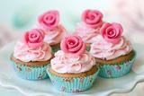 Vintage Cupcakes Fotografie-Druck von Ruth Black