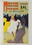La Goulue au Moulin-Rouge Lámina coleccionable por Henri de Toulouse-Lautrec