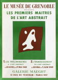 Galerie Maeght Reproduction pour collectionneur par Jean Arp