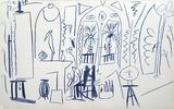 Carnet de Californie 35 Impressão colecionável por Pablo Picasso