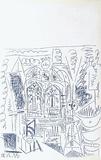 Carnet de Californie 26 Impressão colecionável por Pablo Picasso