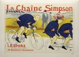 La chaîne Simpson Samletrykk av Henri de Toulouse-Lautrec