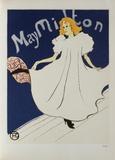 May Milton Lámina coleccionable por Henri de Toulouse-Lautrec