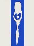Papiers Decoupes - Femme a Lamphore Samletrykk av Henri Matisse