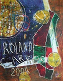 Roland Garros, 2004 Collectable Print by Daniel Humair