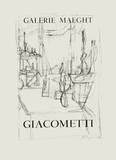Galerie Maeght, 1951 Impressão colecionável por Alberto Giacometti