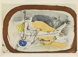 Carnets Intimes 18 Stampa da collezione di Georges Braque