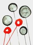 Dlm156 - Ballons Reproduction pour collectionneur par Alexander Calder