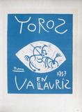 AF 1957 - Toros en Vallauris Reproduction pour collectionneur par Pablo Picasso