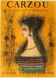 Le paradis terrestre Collectable Print by Jean Carzou