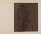 LC - Picador et cheval Impressão colecionável por Pablo Picasso
