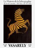 Expo Maison de la Lithographie Premium-Edition von Victor Vasarely