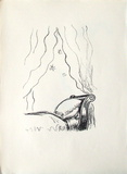 La Princesse de Babylone 15 (Suite NB) Reproduction pour collectionneur par Kees van Dongen