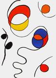 Dlm173 - Composition II Reproduction pour collectionneur par Alexander Calder