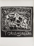 AF 1954 - Toros en Vallauris Keräilyvedos tekijänä Pablo Picasso