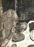 Le Petit Déjeuner Collectable Print by Pierre Bonnard