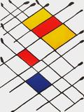 Derrier le Mirroir, no. 156: Damier Impressão colecionável por Alexander Calder