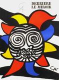 Derrier le Mirroir, no. 156: Soleil Keräilyvedos tekijänä Alexander Calder