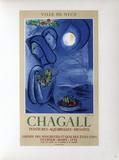 AF 1952 - Ville De Nice Lámina coleccionable por Marc Chagall
