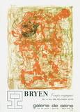 Expo Galerie De Seine Lámina coleccionable por Camille Bryen