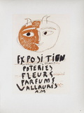 AF 1948 - Poteries Fleurs Parfums II Impressão colecionável por Pablo Picasso
