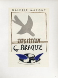 Af 1956 - Galerie Maeght Reproduction pour collectionneur par Georges Braque