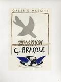 Af 1956 - Galerie Maeght Sammlerdrucke von Georges Braque