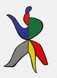 Derrier le Mirroir, no. 141: Stabiles VIII Impressão colecionável por Alexander Calder
