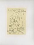 AF 1951 - Exposition Hispano-Américaine Reproduction pour collectionneur par Pablo Picasso