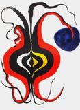 Derrier le Mirroir, no. 156: Bulbe Samlertryk af Alexander Calder