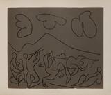 LC - Bacchanale Impressão colecionável por Pablo Picasso