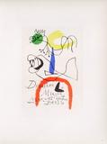AF 1954 - Derriere Le Miroir Impressão colecionável por Joan Miró