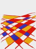Dlm190 - Composition II Reproduction pour collectionneur par Alexander Calder
