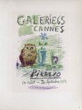 AF 1956 - Galerie 65 Sammlerdrucke von Pablo Picasso
