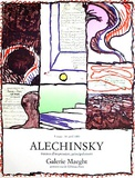 Galerie Maeght, 1980 Keräilyvedos tekijänä Pierre Alechinsky