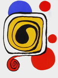 Derrier le Mirroir, no. 190: Composition III Edição premium por Alexander Calder