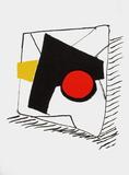 Dlm221 - Composition Géométrique Reproduction pour collectionneur par Alexander Calder