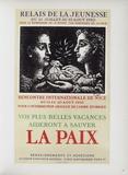 AF 1950 - Relai de jeunesse Sammlerdrucke von Pablo Picasso